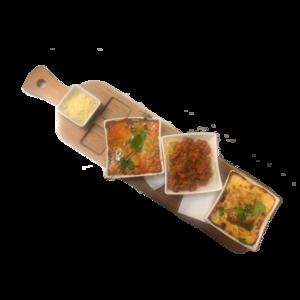 Très special pasta (cannelloni, lasagne, spaghetti)